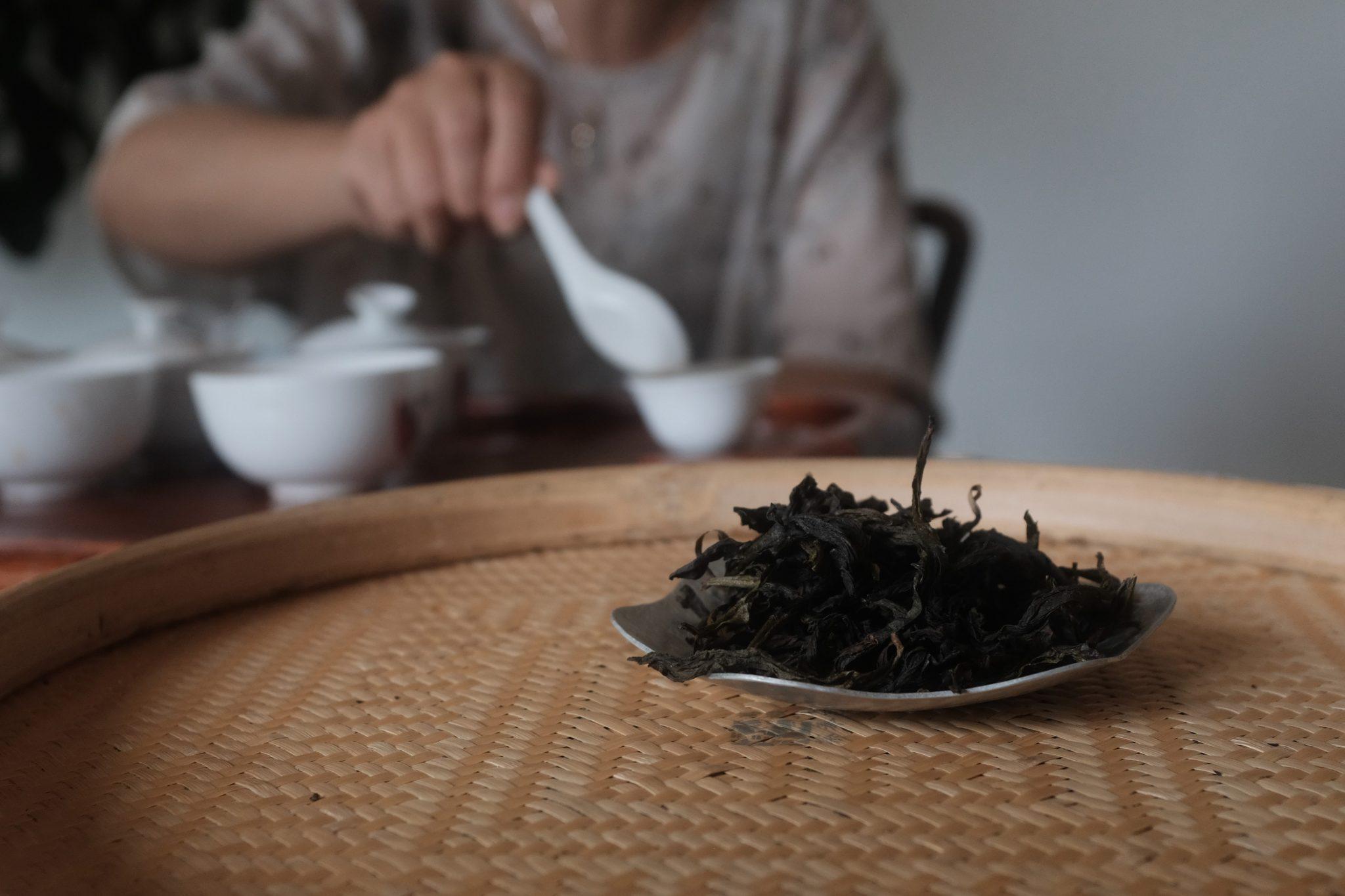wuyishan svart te – floder och berg tehandelsbolag